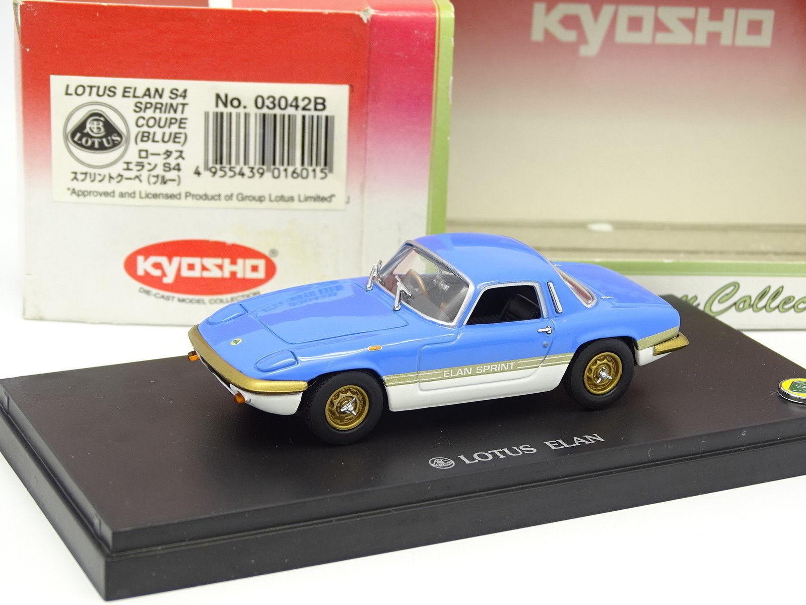 Kyosho 1 43 Lotus Elan s4 Sprint bluee