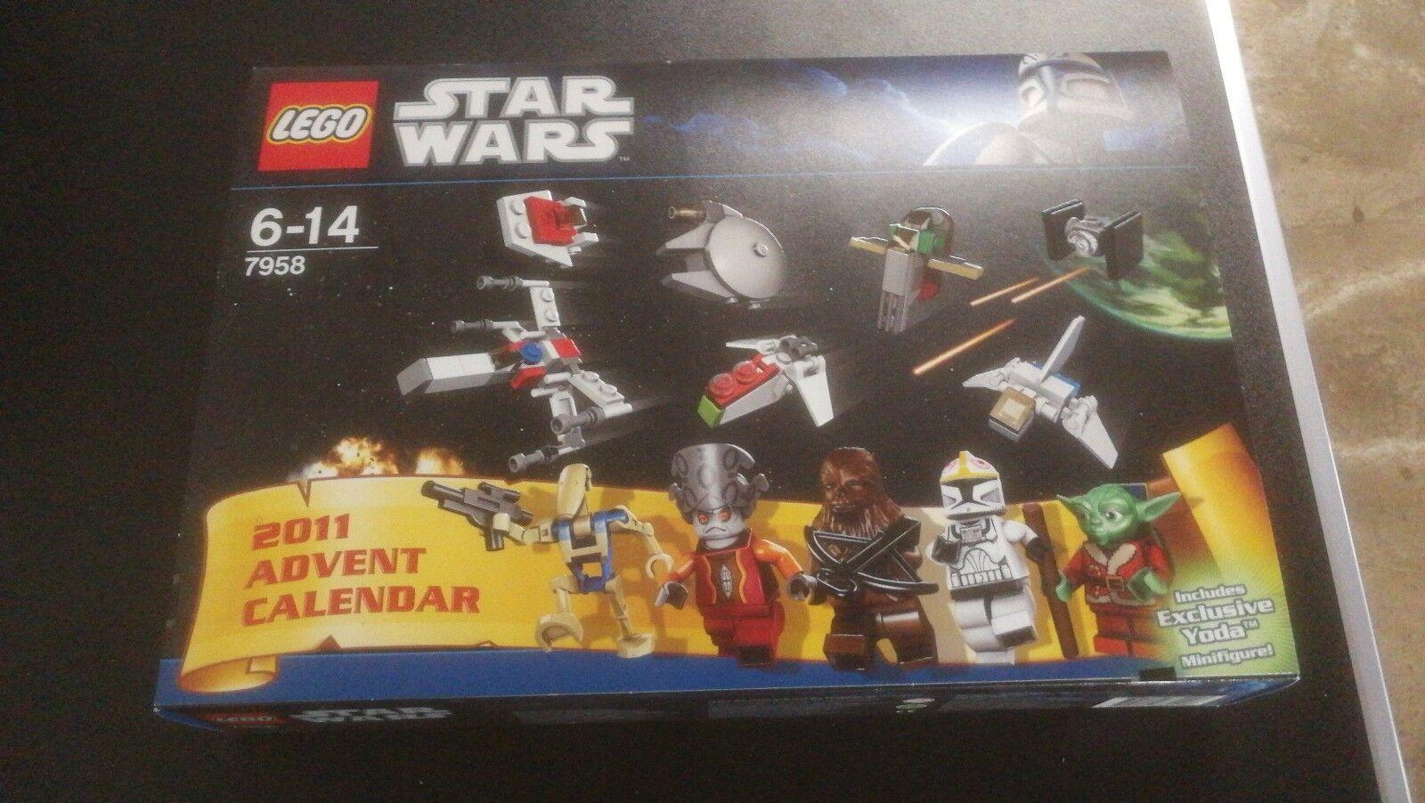 NEU LEGO STAR WARS ADVENTSKALENDER - 7958 von von von 2011 CALENDER WEIHANCHTSKALENDER a1bdbf