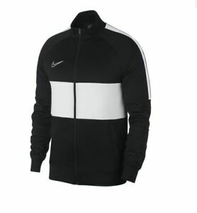 Details about Nike 2019 Dri Fit Academy I96 Knit Training Full Zip Soccer Jacket Black White