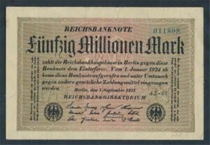 German-Empire-Rosenbg-108f-used-III-1923-50-million-Mark-8401076