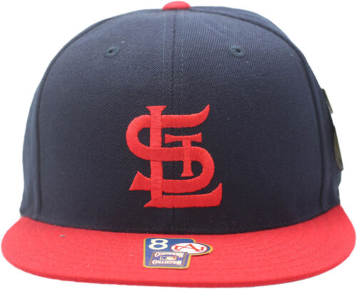 Louis Cardinals Fitted Hat 1943-1956 Cooperstown Collection 11416 St