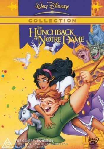 1 of 1 - The Hunchback Of Notre Dame NEW R4 DVD