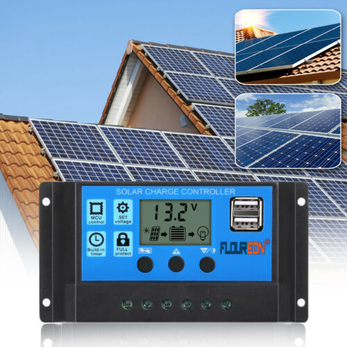10A Solarladeregler LED Solar Charge Controller// Regulator RoHS CE PWM FOR HOME