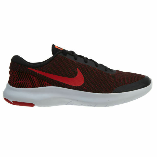 2ef797758861d Nike Flex Experience RN 7 Mens 908985-006 Black Gym Red Running Shoes Size  11 for sale online