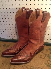 ARIAT Women's  Brown Cowboy Western Leather Boots US Size 7.5 B