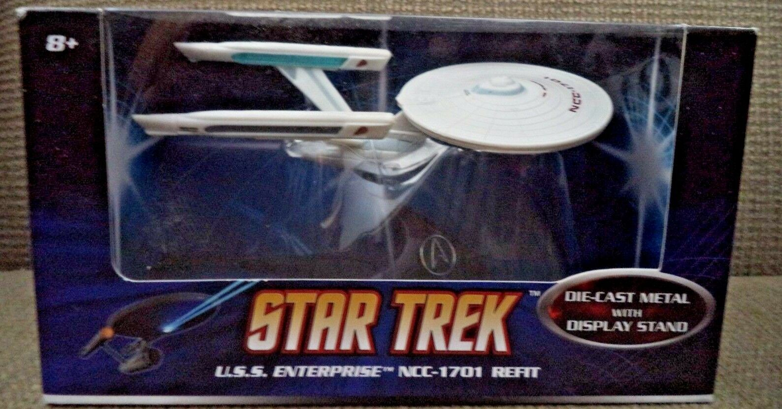 Hot Wheels Star Trek USS Enterprise NCC - 1701 Refit P8511 2008 NEW