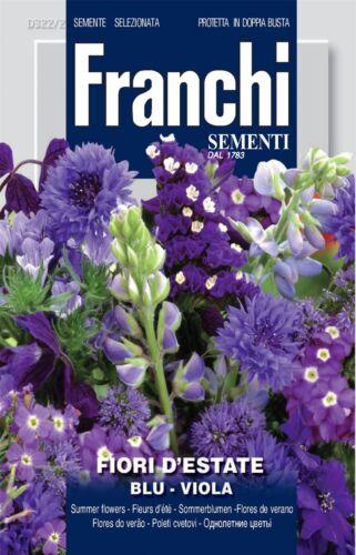 Mixte Fleurs d/'été-Bleu-Graines Franchi-fdbf /_ 322-2
