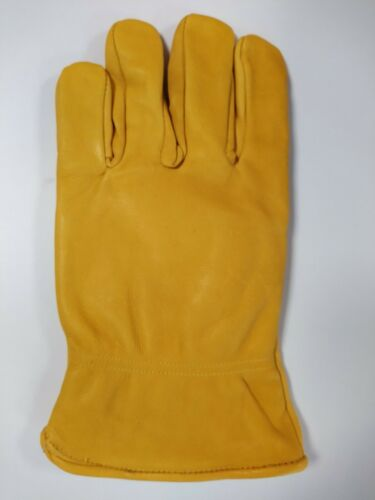 Leather Garden Gloves Size large