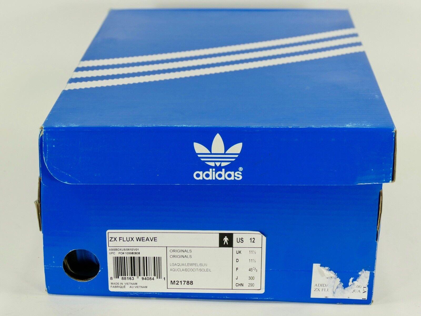Adidas ZX Flux Weave light aqualemon peelsun 2014 8000 og originals m21788