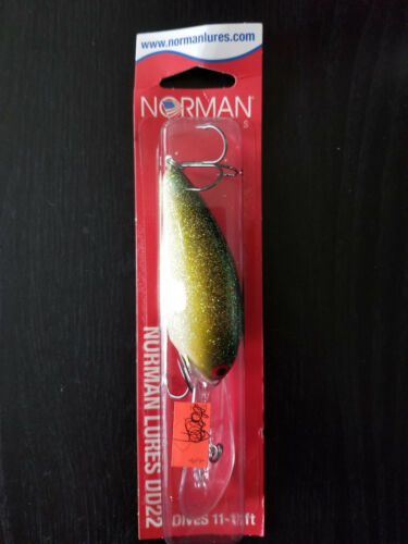 Norman lures Deep Diver GDD22-147 22 Tennessee Shad