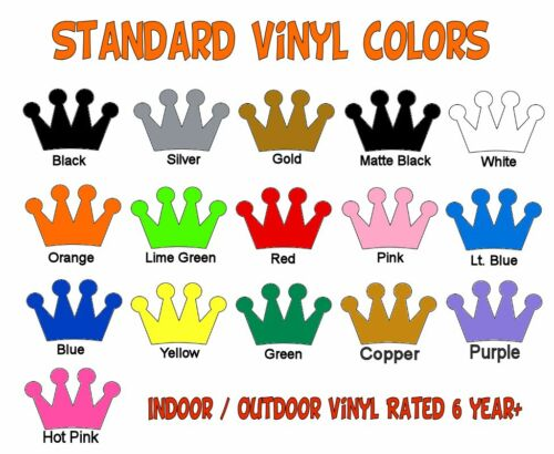 """DIY Sign Car Dealer 0-9 Numbers 1x Set Vinyl Decals 3/"""" Inches Select Color"""