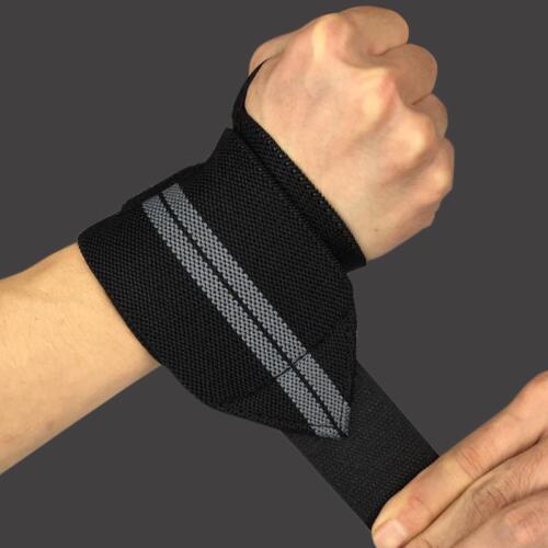 Wrist Adjustable Elastic Wraps Bandages Weightlifting Wristband Breathable Gym