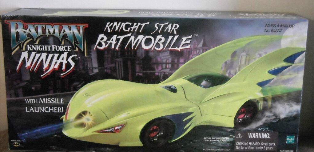Batman Knight Force Ninjas Knight Star Batmobile Nuovo Sealed