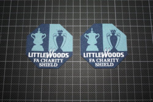 1997 LITTLEWOODS FA CHARITY SHILED PATCH