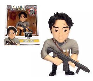 The-Walking-Dead-Glenn-Rhee-4-034-metales-Die-Cast-Figura-Nuevo-Jada-M182