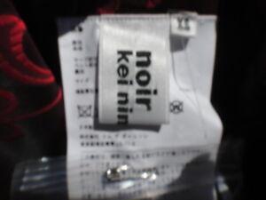 jacquard Wmn's Japan maat XS kniehoge geruite rok Kei Ninomiya bloemen Noir q84gw4