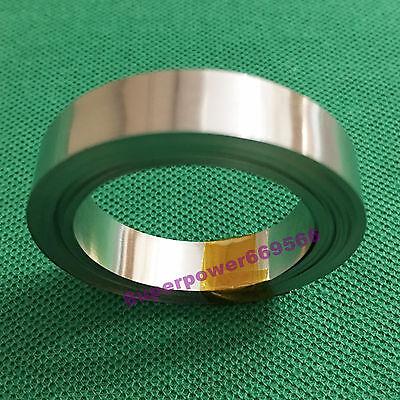 5M 16.4FT Nickel plated steel strip sheet  8mm W X 0.1mm T for battery welding