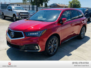 2020 Acura MDX SH-AWD w/Technology & A-Spec Pkgs Sport Utility 4D