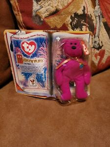 McDonald/'s Millennium The Bear Happy Meal Toy Animal By TY Teenie Beanie Babies
