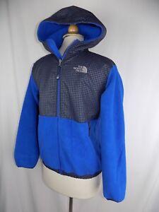 2e0e97d75 The North Face Denali Fleece Jacket Full Zip Royal Blue Youth Kids ...