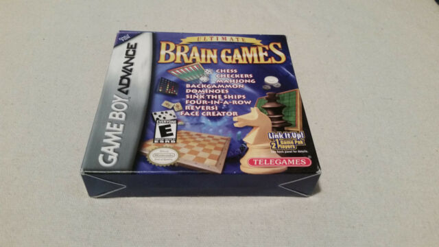 Ultimate Brain Games (Nintendo Gameboy Advance) COMPLETE