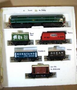 TRIANG-HORNBY-R169-R357-FREIGHTMASTER-TRAIN-SET-CLASS-31-LOCO-TCS-DCC-FITTED