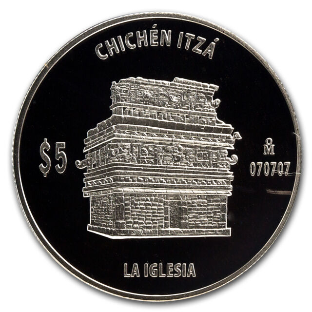Mexico 1 oz Proof Silver La Iglesia (The Church) - SKU #71837