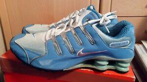 Details zu Nike Shox NZ in Blau Weiss Gr. 11 45 29 cm max air tn