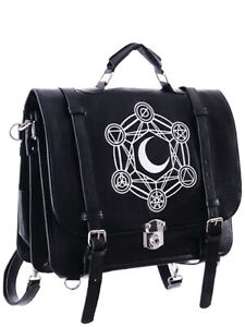 Restyle-Moon-Messenger-Bag-Backpack-Tas-Rugzak-Gothic-Occult