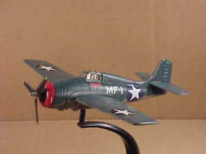 DeAGOSTINI DAWF18 1/72 Grumman F4F Wildcat, 13 Victory Ace/ MOH R. Galer, USMC