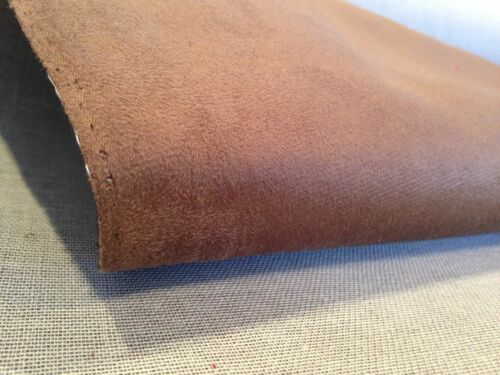 10x10cm SAMPLE PREMIUM FAUX SUEDE BACKED UPHOLSTERY FABRIC CAR VAN CAMPER BOAT