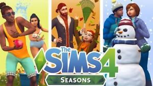THE-SIMS-4-SEASONS-expansion-PC-Origin-key