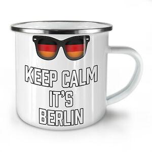 Keep Calm Germany NEW Enamel Tea Mug 10 oz   Wellcoda
