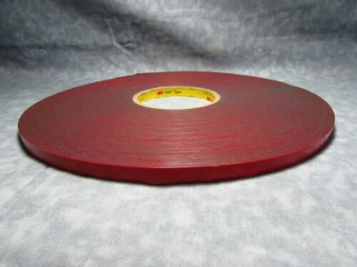 "3M 4646 VHB™ Very High Bond Foam Tape 1//4/"" x 72yds shelf"