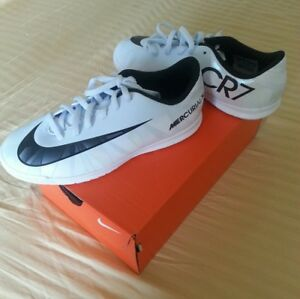 06c499ade83 JR Nike MercurialX Vortex 3 CR7 IC Blue Tint   Black White 852495 ...