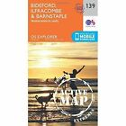 Bideford, Ilfracombe and Barnstaple by Ordnance Survey (Sheet map, folded, 2015)