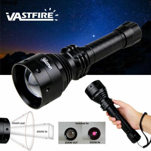 T67 Zoombare LED IR Infrarot 850nm Jagdlicht Illuminator Taschenlampe Nachtsicht