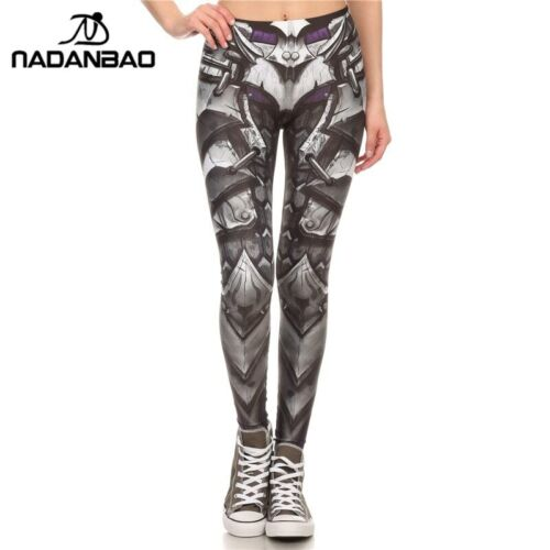 BARBARIAN Skull Leggings Printed Leggings  Woman Pants Outdoor Brand New