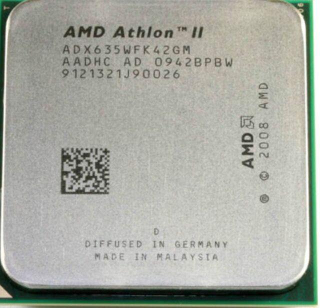 AMD CPU Athlon II X4-635 2.9GHz Socket AM3