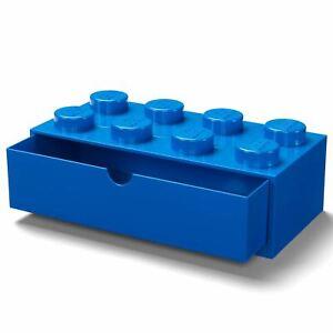 Lego-Brique-Rangement-Bureau-Tiroir-8-Boutons-Enfants-Chambre-Salle-de-Jeu