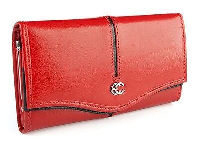 New New Womens Fashion Leather Wallet Button Clutch Purse Long Handbag Bag