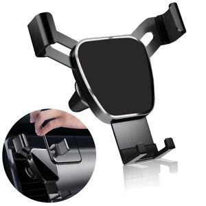Car Air Vent Mount Cradle Holder GPS Gravity Mobile Phone Stand For iPhone 12 11