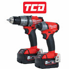 Milwaukee M18 Fuel Cordless Drill and Impact Driver Set