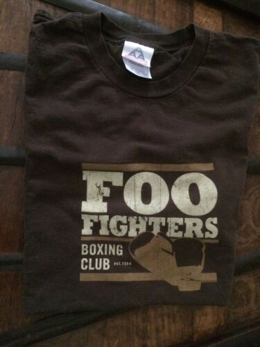 VINTAGE FOO FIGHTERS BOXING CLUB LARGE T-SHIRT DAV