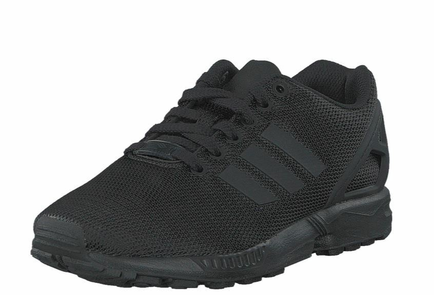 new products c8dfd ef788 adidas Originals ZX Flux Triple Black Men Running Shoes SNEAKERS Trainers  S32279 UK 5  eBay