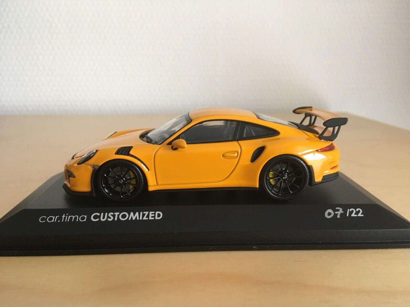 voituretima Minichamps Porsche 911 GT3 RS Neuve