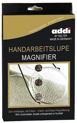 ADDI Magnifying Glass Magnifier with Neck Strap for all Crafts Addi 491-2
