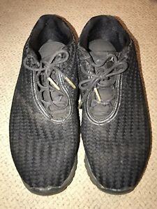 24f31b8cbcf5ee NIKE AIR JORDAN Future Low Sneakers Shoes 7.5 Black Metallic Retro ...
