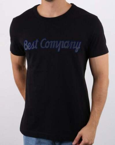 BEST COMPANY à encolure ras-du-Cou T Shirt Noir