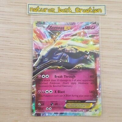 Xerneas EX NM XY Base Set 97//146 Pokemon TCG